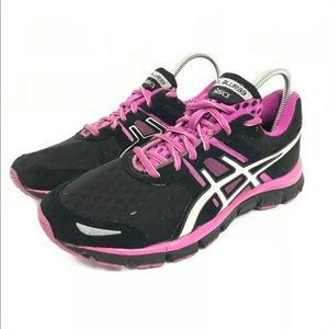 Asics Gel-Blur 33 pink black womens running shoes